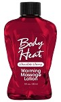 Body Heat Warming Massage Lotion Chocolate Cherry